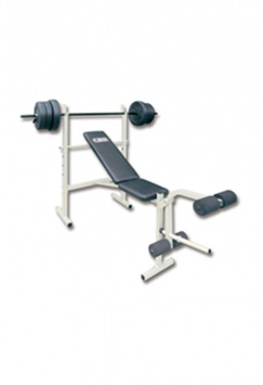 Лежанка с лост и 35 кг тежести Weight bench with 35 kgs weight